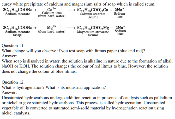 NCERT Solutions for Class 10 Science Chapter 4 Carbon and Its Compounds 21
