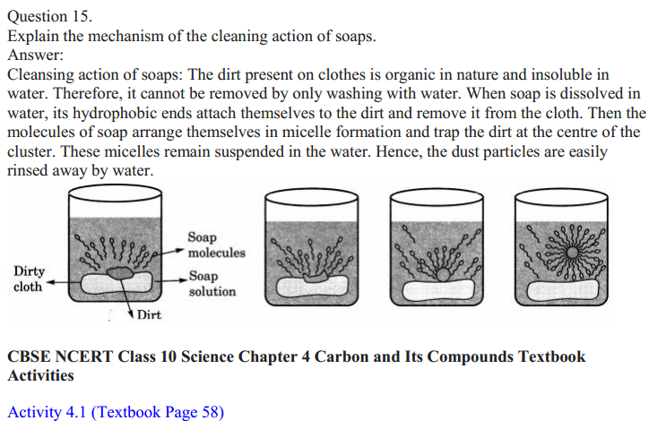 NCERT Solutions for Class 10 Science Chapter 4 Carbon and Its Compounds 24