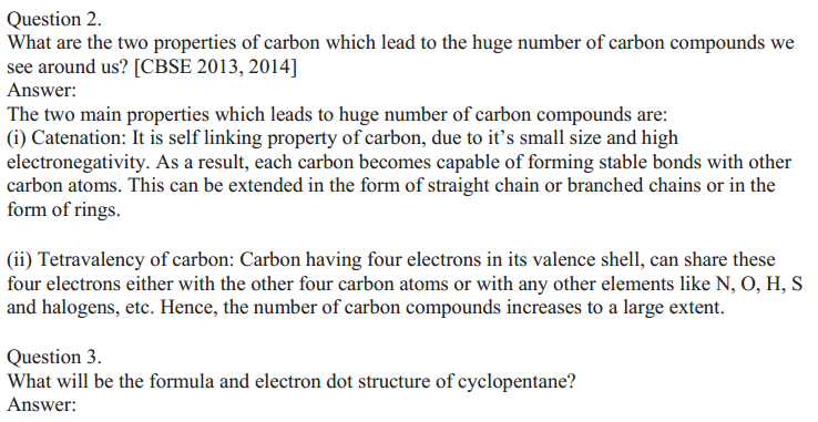 NCERT Solutions for Class 10 Science Chapter 4 Carbon and Its Compounds 4