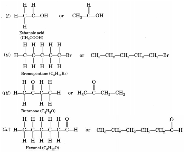 NCERT Solutions for Class 10 Science Chapter 4 Carbon and Its Compounds 7