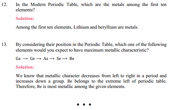 NCERT Solutions for Class 10 Science Chapter 5 Periodic Classification of Elements 17