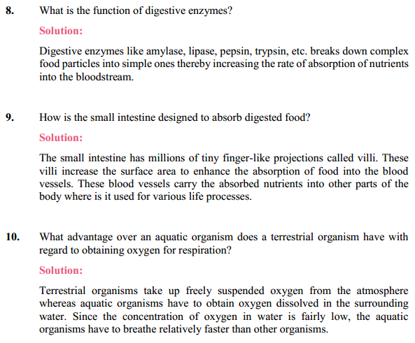 NCERT Solutions for Class 10 Science Chapter 6 Life Processes 17
