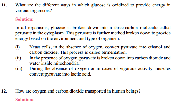 NCERT Solutions for Class 10 Science Chapter 6 Life Processes 18