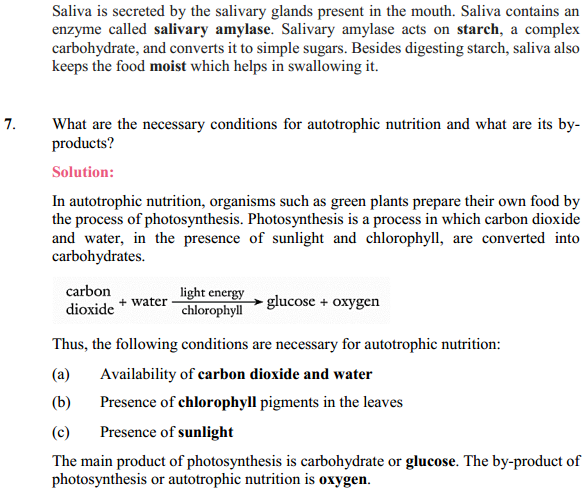NCERT Solutions for Class 10 Science Chapter 6 Life Processes 5