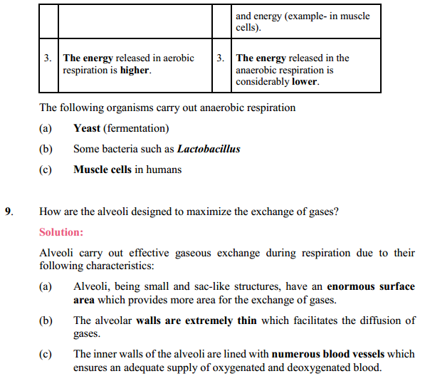 NCERT Solutions for Class 10 Science Chapter 6 Life Processes 7