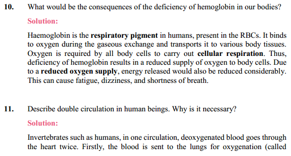 NCERT Solutions for Class 10 Science Chapter 6 Life Processes 8
