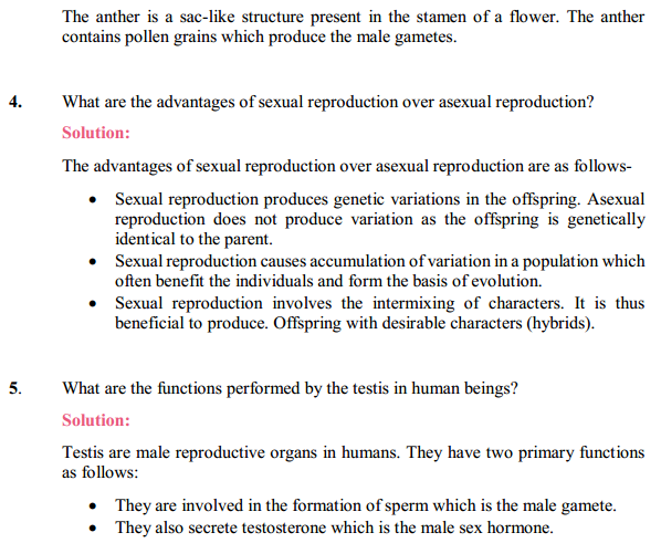 NCERT Solutions for Class 10 Science Chapter 8 How Do Organisms Reproduce 3