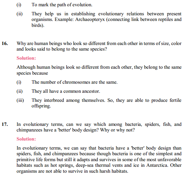 NCERT Solutions for Class 10 Science Chapter 9 Heredity and Evolution 19