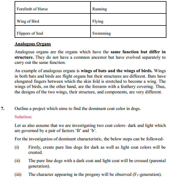 NCERT Solutions for Class 10 Science Chapter 9 Heredity and Evolution 5
