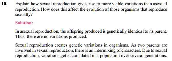 NCERT Solutions for Class 10 Science Chapter 9 Heredity and Evolution 8